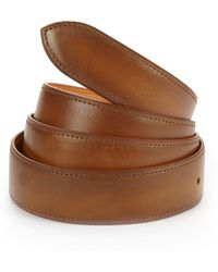 Corthay - Old Wood Patina Leather Belt - Lyst