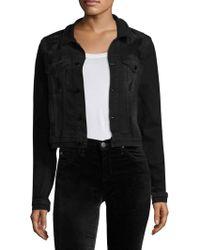 Cotton Citizen - Distressed Denim Jacket - Lyst