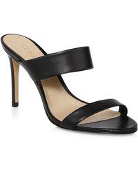 Schutz - Leia Leather Sandals - Lyst