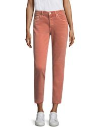 AMO - Cropped Skinny Jeans - Lyst