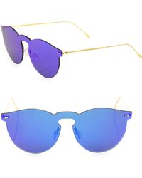 Illesteva - Leonard Ii 50mm Mirrored Mask Sunglasses - Lyst