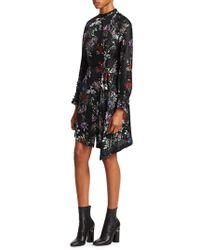 Each x Other - Floral Printed Asymmetric Dress - Lyst