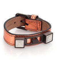 Proenza Schouler - Ps11 Metallic Leather Bracelet - Lyst