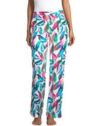 Onia - Mila Tropical Print Trousers - Lyst
