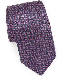 Charvet - Embroidered Silk Tie - Lyst