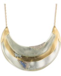 Alexis Bittar - Roxbury Muse Bib Necklace - Lyst