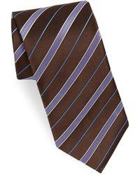 Eton of Sweden - Striped Silk Tie - Lyst