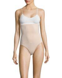 1b83084ba7580 Lyst - Tc Fine Intimates Wear Your Own Bra Body Briefer Bodysuit in ...