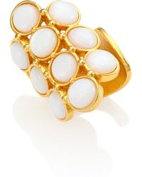 Stephanie Kantis | Groove Coin Moonstone Ring | Lyst