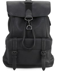 COACH - Bleecker Leather Backpack - Lyst