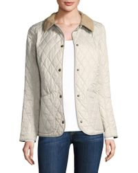 Barbour - Spring Annandale Quilt Jacket - Lyst