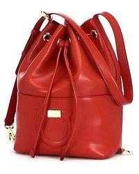 Ferragamo - City Bucket Bag - Lyst