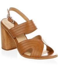 Joie - Aforeleen Leather Sandals - Lyst