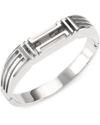 Tory Burch - X Fitbit Metallic Bangle - Lyst