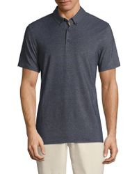 AG Green Label - Berrian Heathered Polo - Lyst