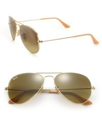 Ray-Ban - Original Aviator Sunglasses - Lyst