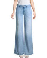 Hudson Jeans - Nico Wide Leg Trousers - Lyst