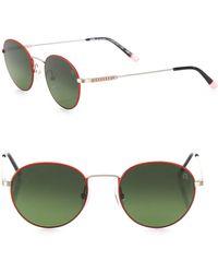 Etnia Barcelona - Vintage Le Marais Sun 49mm Multi-toned Round Sunglasses - Lyst