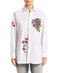Each x Other - Floral Printed Loose Shirt - Lyst