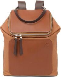 Loewe - Goya Leather Backpack - Lyst
