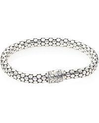 John Hardy | Dot Sterling Silver Small Chain Bracelet | Lyst