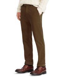 Ralph Lauren Purple Label - Stretch Wale Corduroy Trousers - Lyst
