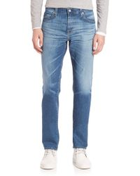AG Jeans - Graduate Slim Straight Jeans - Lyst