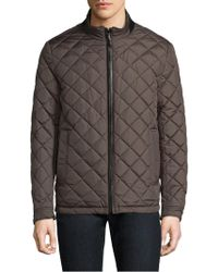 Tumi - Reversible Quilted Jacket - Lyst