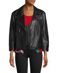 Joie - Kameke Leather Jacket - Lyst
