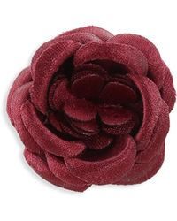 Hook + Albert - Zoo Silk Lapel Flower - Lyst
