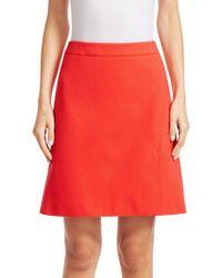 Akris Punto - Jersey A-line Skirt - Lyst