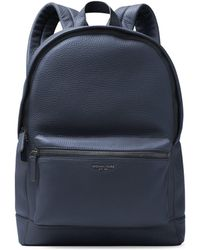 7316347d313d Michael Kors - Men s Bryant Pebble-textured Leather Backpack - Black - Lyst
