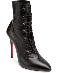 Christian Louboutin - French Tutu Pointy Toe Bootie - Lyst