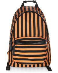 AMI - Printed Stripe Backpack - Lyst
