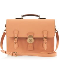 Burberry - Leather Briefcase - Lyst