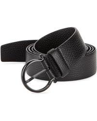 Ferragamo - Gancio Buckle Belt With Extended Strap - Lyst