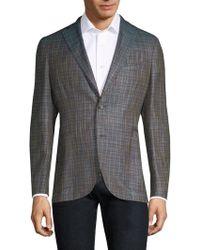 Boglioli - Regular-fit Plaid Sportcoat - Lyst
