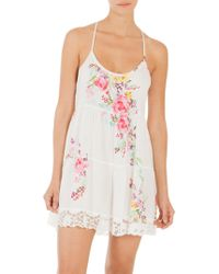 In Bloom - Paradise Floral Chemise - Lyst
