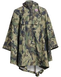 Canada Goose - Hooded Poncho - Lyst