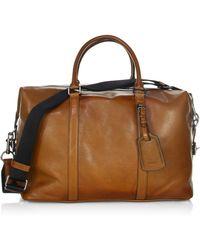 COACH - Express Leather Duffel Bag - Lyst