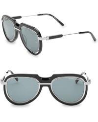 512373131ce Calvin Klein - Modern 53mm Aviator Sunglasses - Lyst