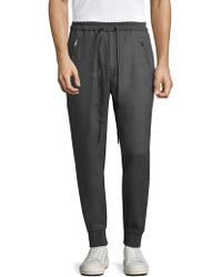 3.1 Phillip Lim - Dropped Rise Tapered Sweatpants - Lyst
