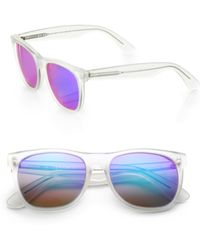 Retrosuperfuture - Basic Mirrored Sunglasses - Lyst