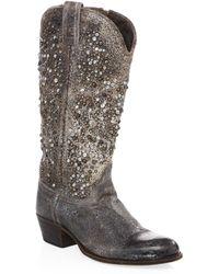 Frye - Deborah Mid-calf Western Boots - Lyst