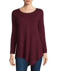 Joie - Tambrel Asymmetrical Wool & Cashmere Sweater - Lyst