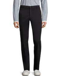 AG Green Label - Graduate Brushed Trousers - Lyst