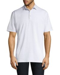 Peter Millar - Halford Stripe Polo Shirt - Lyst