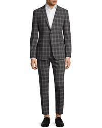 Strellson - Cale Madden Slim Fit Plaid Suit - Lyst
