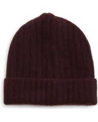 Saks Fifth Avenue - Collection Rib-knit Beanie - Lyst