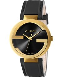 36a3bc20ef1 Gucci - Interlocking G Stainless Steel Watch - Lyst